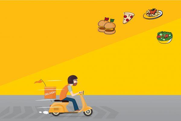 Uso de aplicativos delivery