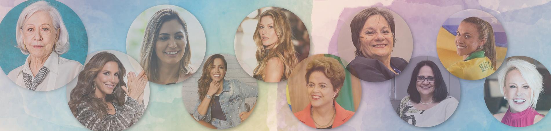 Ranking do Instituto QualiBest revela quais são as mulheres mais admiradas do Brasil