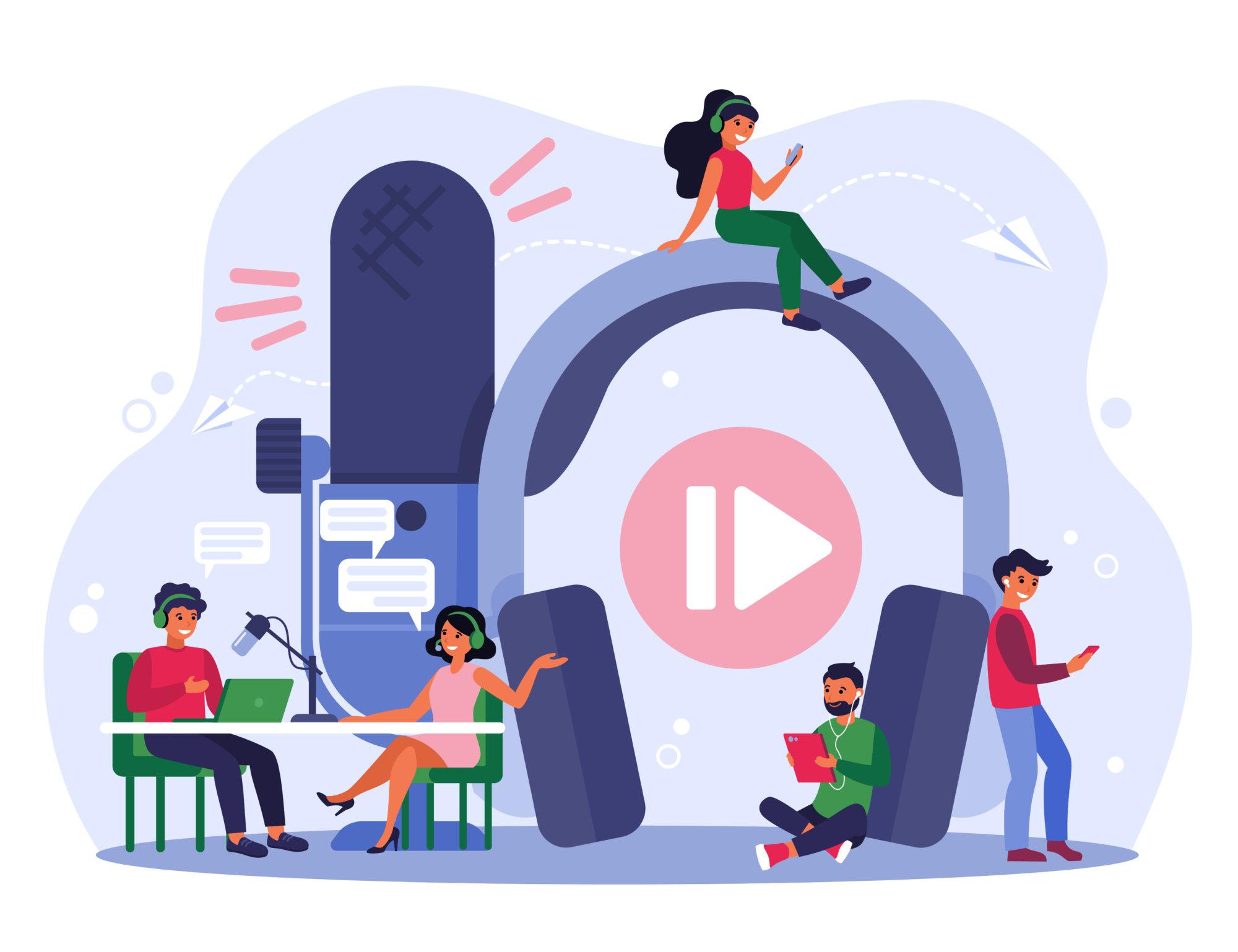 Por que o podcast ganha cada vez mais relevância?