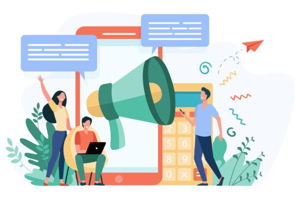 Boa comunicação com clientes