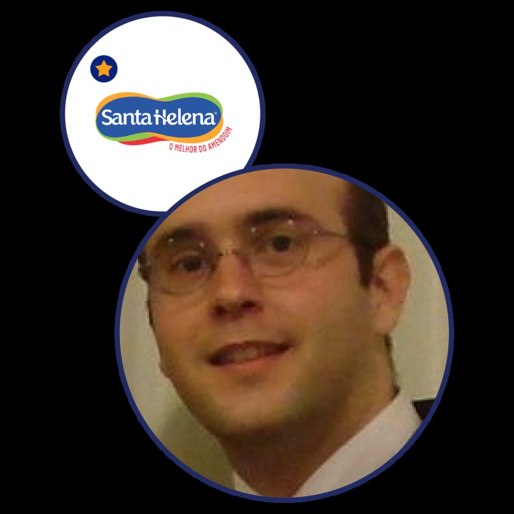 Tiago Garcia Leal - Gerente corporativo de marketing, inovação e varejo próprio - Santa Helena (Case Paçoquita)